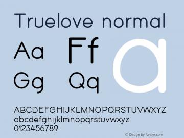 Truelove Version 1图片样张