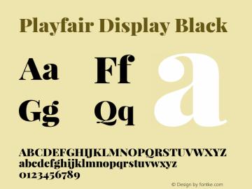 Playfair Display Black Version 1.003;PS 001.003;hotconv 1.0.70;makeotf.lib2.5.58329; ttfautohint (v0.95) -l 42 -r 42 -G 200 -x 14 -w