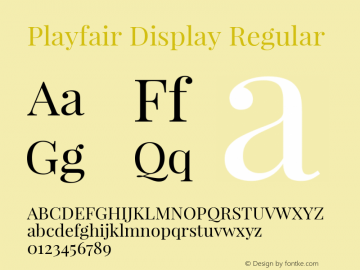 Playfair Display Version 1.003;PS 001.003;hotconv 1.0.70;makeotf.lib2.5.58329; ttfautohint (v0.95) -l 42 -r 42 -G 200 -x 14 -w