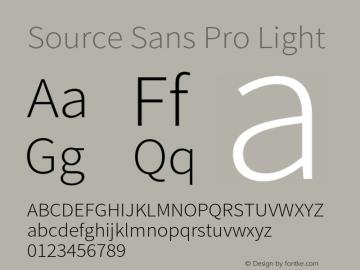 Source Sans Pro Light Version 2.010;PS 2.0;hotconv 1.0.79;makeotf.lib2.5.61930图片样张