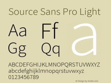 Source Sans Pro Light Version 2.010;PS Version 2.0;hotconv 1.0.79;makeotf.lib2.5.61930图片样张