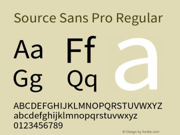 Source Sans Pro Version 2.010;PS 2.0;hotconv 1.0.79;makeotf.lib2.5.61930图片样张