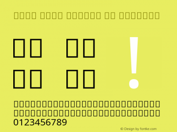 Noto Sans Arabic UI Regular Version 2.001 Font Sample