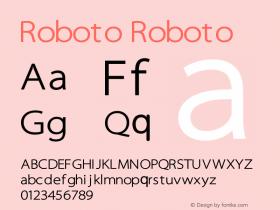 Roboto Roboto图片样张