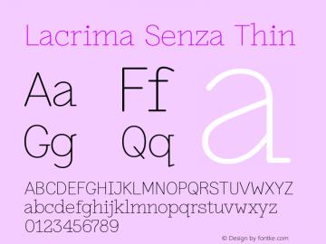 Lacrima Senza Thin Version 3.001 | wf-rip DC20190405图片样张