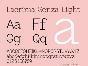 Lacrima Senza Light Version 3.001 | wf-rip DC20190405图片样张