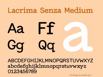 Lacrima Senza Medium Version 3.001 | wf-rip DC20190405图片样张