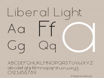 Liberal-Light Version 1.000 | wf-rip DC20180130图片样张