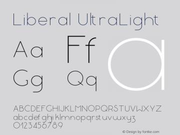 Liberal-UltraLight Version 1.000 | wf-rip DC20180130图片样张