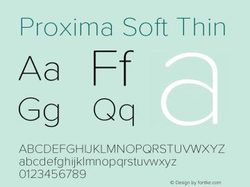ProximaSoft-Thin Version 1.005 | w-rip DC20181225图片样张