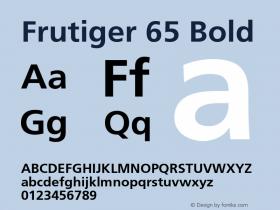 Frutiger-Bold 001.002图片样张