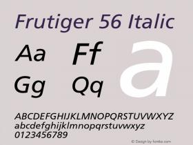 Frutiger-Italic 001.002图片样张