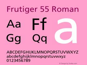 Frutiger-Roman 001.002图片样张