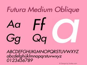 Futura-Oblique 001.002图片样张