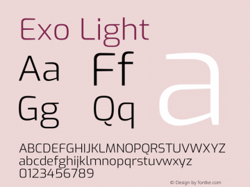 Exo Light Version 2.000图片样张