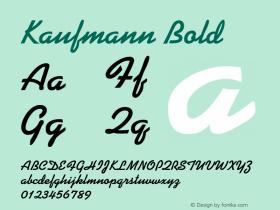 Kaufmann-Bold 001.000图片样张