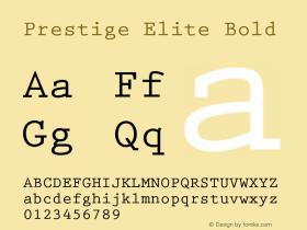 PrestigeElite-Bold 001.001图片样张