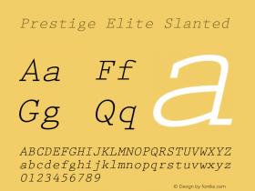 PrestigeElite-Slanted 001.000图片样张