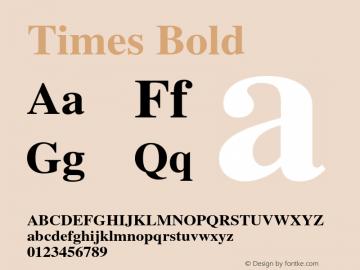 Times-Bold 001.007图片样张