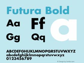Futura-Bold 001.001图片样张