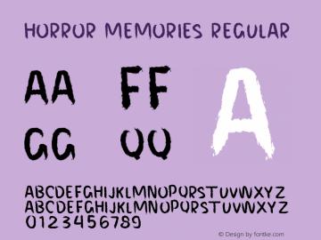 HORROR MEMORIES Version 001.000图片样张