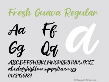 Fresh Guava Version 1.000图片样张