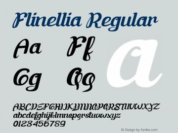 FlinelliaScript Version 1.000图片样张