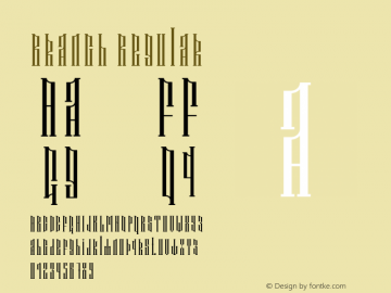 Branch Version 1.003;Fontself Maker 3.3.0图片样张
