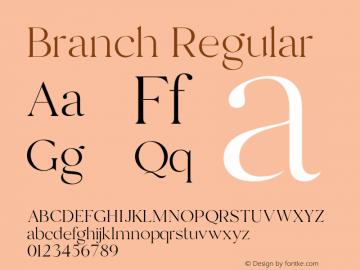 Branch-Regular Version 1.000图片样张