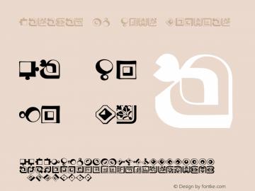 Caravan LH Four Regular Version 2.0; 2000; initial release Font Sample