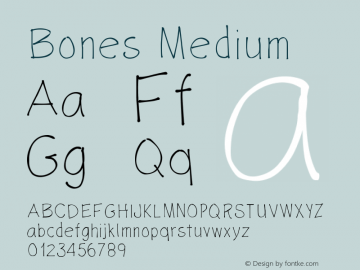 Bones Version 001.000图片样张