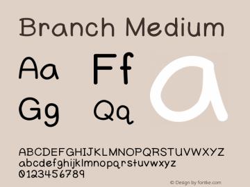 Branch Version 001.000图片样张