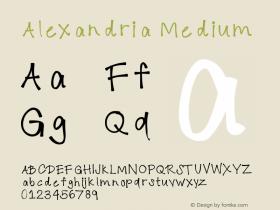 Alexandria Version 001.000图片样张