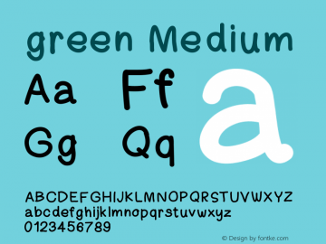 green Version 001.000图片样张