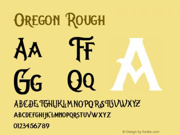 Oregon Rough Version 1.000图片样张