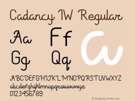 Cadancy IW Version 1.000图片样张