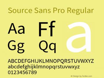 Source Sans Pro Regular Version 2.021;PS 2.000;hotconv 1.0.86;makeotf.lib2.5.63406图片样张