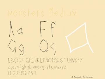 monsters Version 001.000图片样张