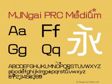 MJNgai PRC Medium 图片样张