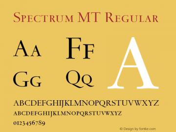 Spectrum MT Regular 001.003图片样张