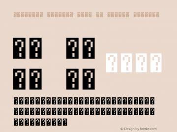 Rohingya Unicode Font by Ahkter Version 11.00;August 22, 2019;FontCreator 12.0.0.2545 64-bit图片样张
