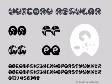 Unicorn Version 1.00;July 18, 2020;FontCreator 11.5.0.2427 32-bit Font Sample