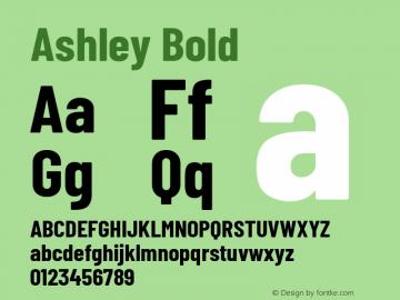 Ashley Bold Version 1.101 November 20, 2017图片样张