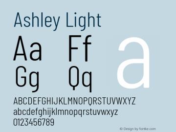 Ashley Light Version 1.101 November 20, 2017图片样张