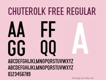 CHUTEROLK Free Regular Version 1.000图片样张