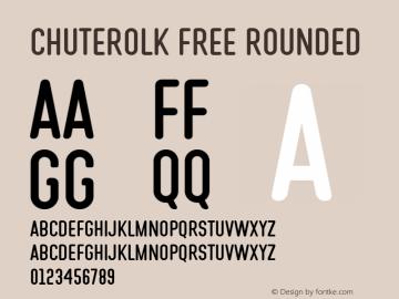CHUTEROLK Free Rounded Version 1.000图片样张
