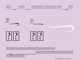 The Lord Night Thorn Swash Version 1.00;August 19, 2020;FontCreator 12.0.0.2563 64-bit图片样张