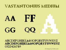 Vastantonius Version 001.000图片样张
