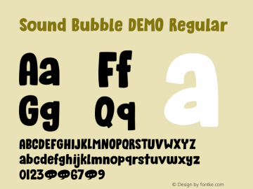Sound Bubble DEMO Regular Version 1.000图片样张