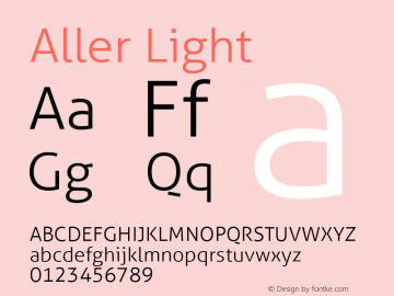 Aller Light Version 1.010图片样张